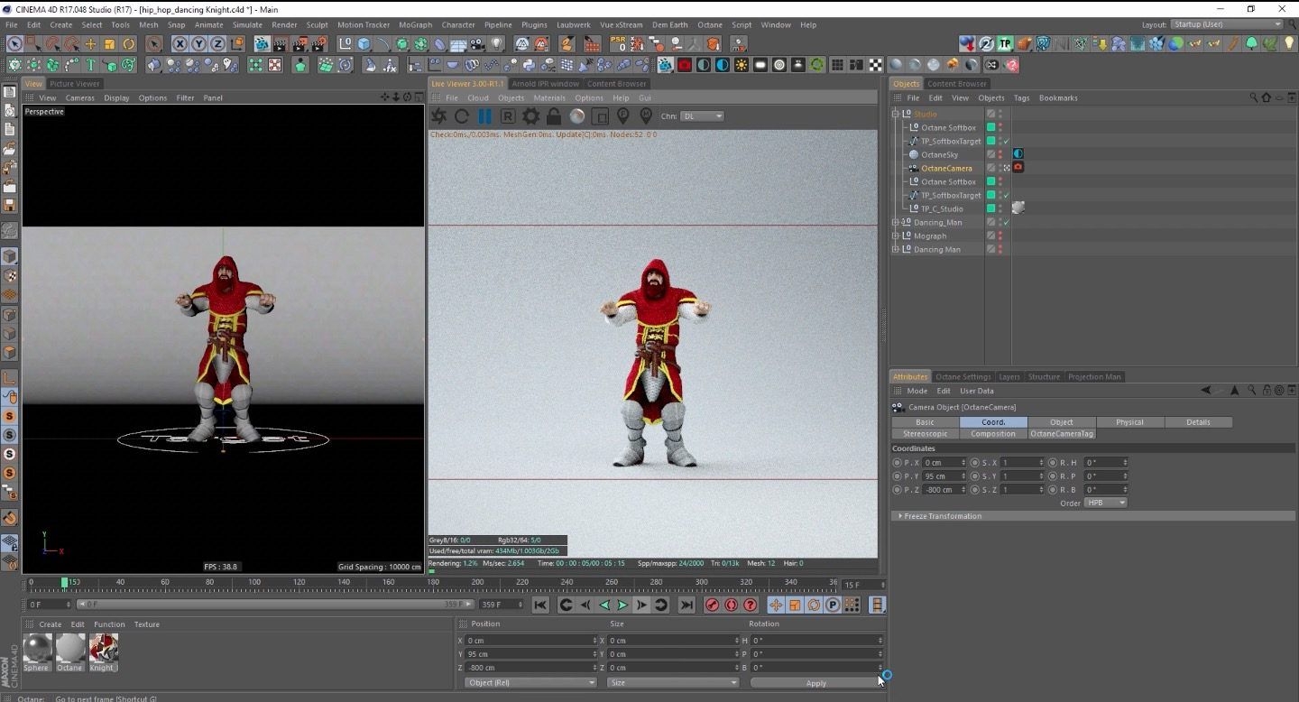 Motion Capture for Creative Cloud Users