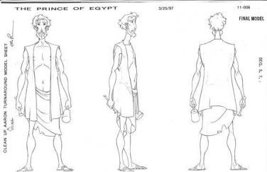 The Prince Of Egypt 100 Original Concept Art Collection