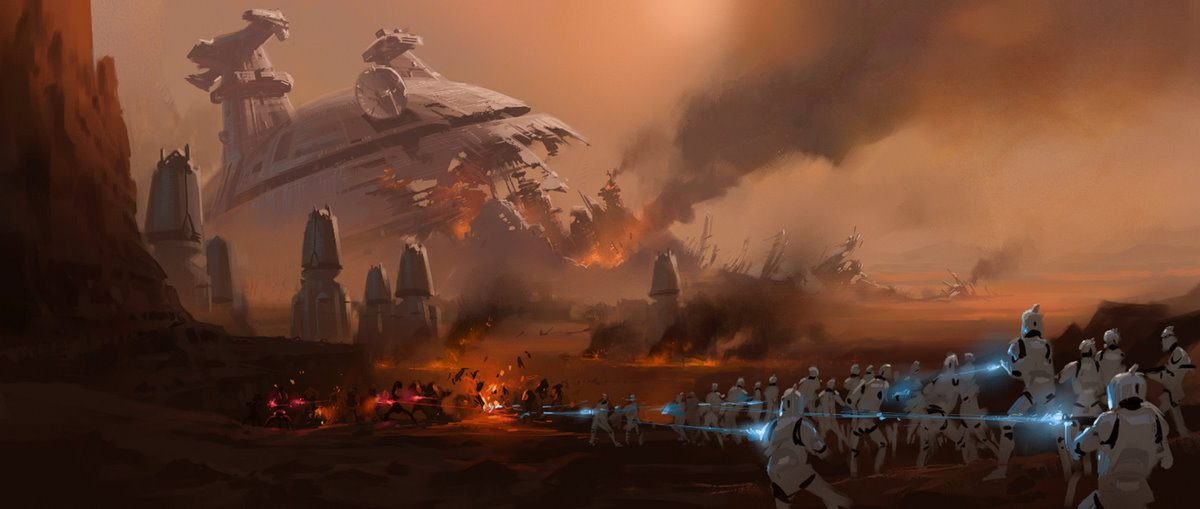 Star Wars 2 Concept Art by Ryan Church