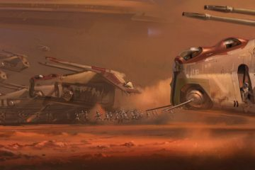 Star Wars II Concept Art by Ryan Church