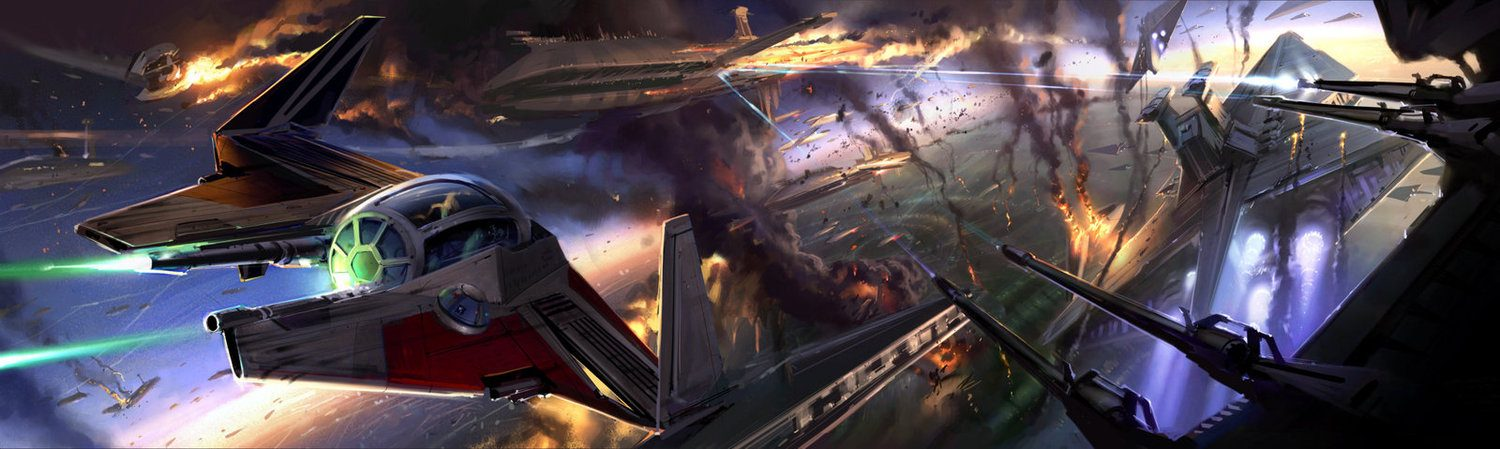 Star Wars 3 Concept Art by Ryan Church