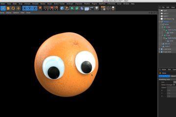 Making Googly Eyes in Cinema 4D