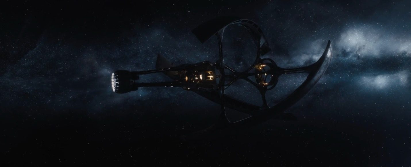 Passengers second international trailer for Passengers spaceship