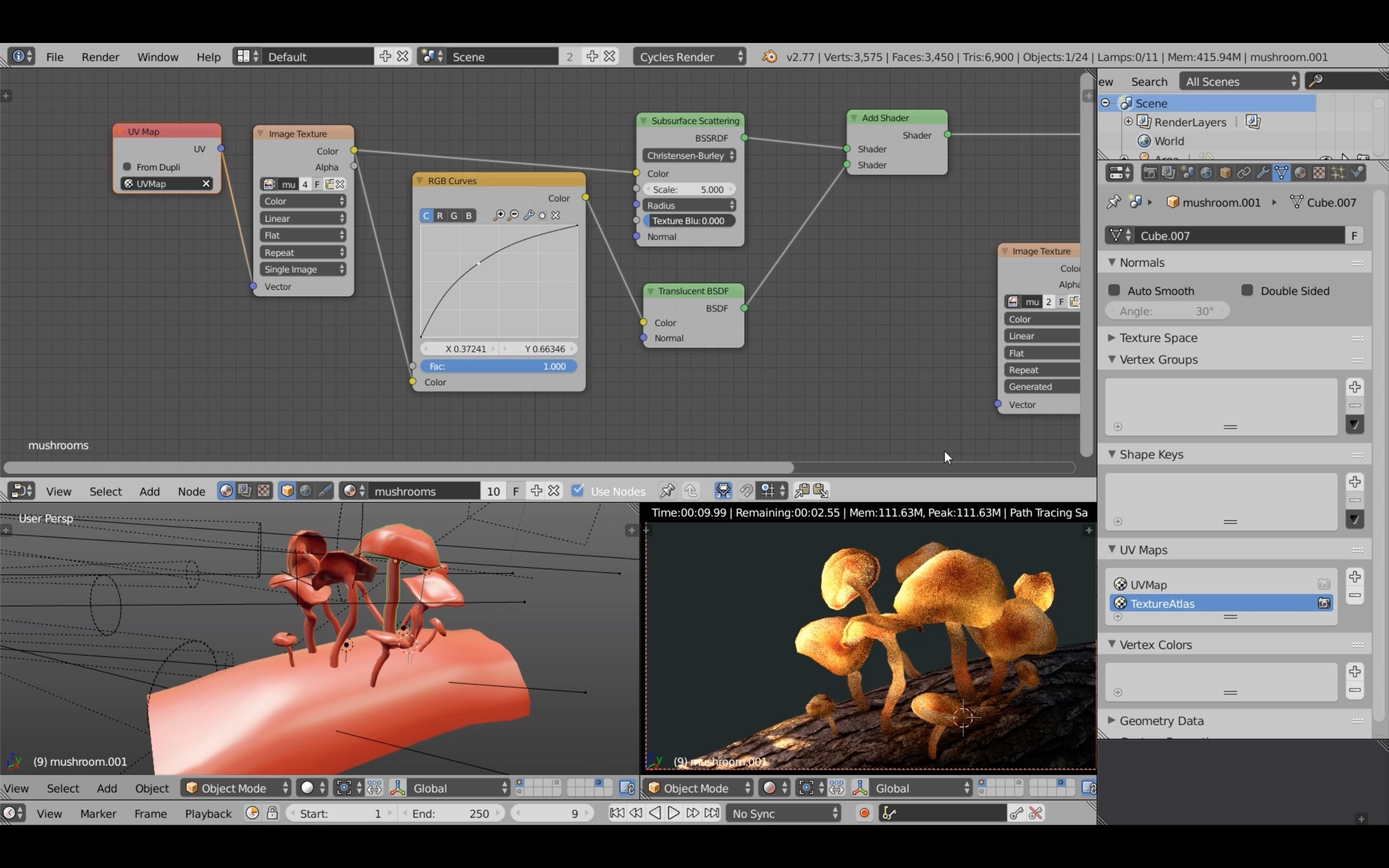 Blender Tutorial: Lighting and Baking Workflow