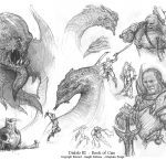 Diablo III Book of Cain Sketches by JB Monge