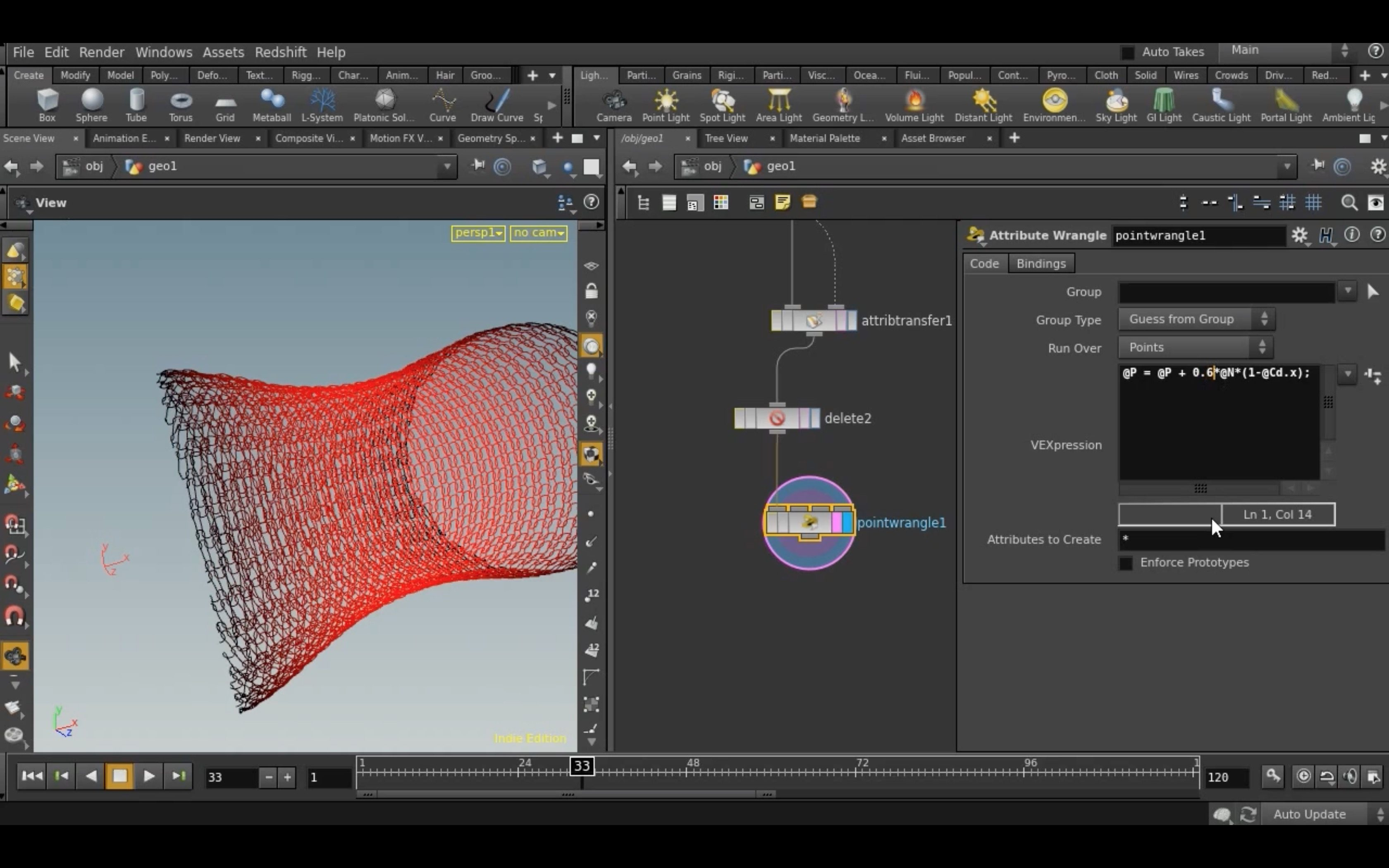 Houdini Knit Solver Tutorial