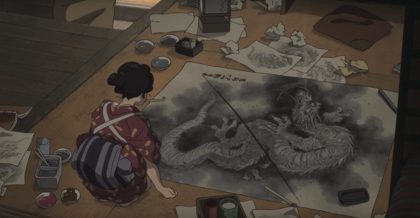 Miss Hokusai First Clip