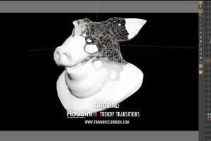 Trendy Transitions in Houdini
