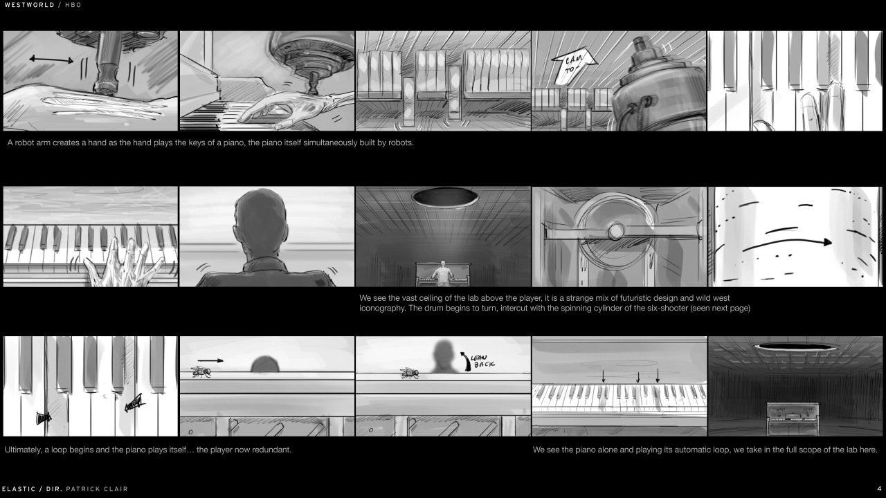 Westworkd Storyboard