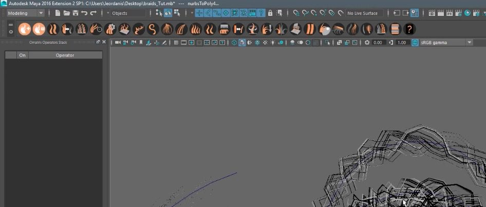 Creating Braids and Buns in Maya with Ornatrix