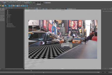 Rendering a Robot in NYC with Renderman