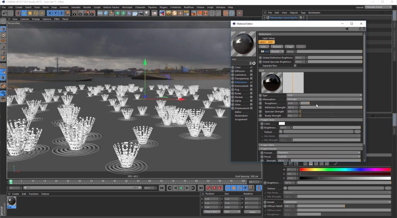Create a Rain Scene With Cinema 4D
