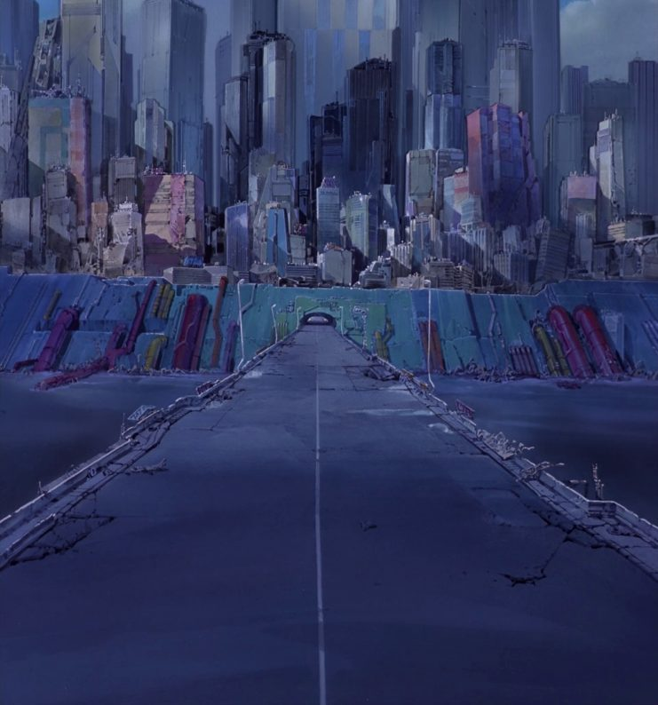 The Art of Akira : Original Backgrounds