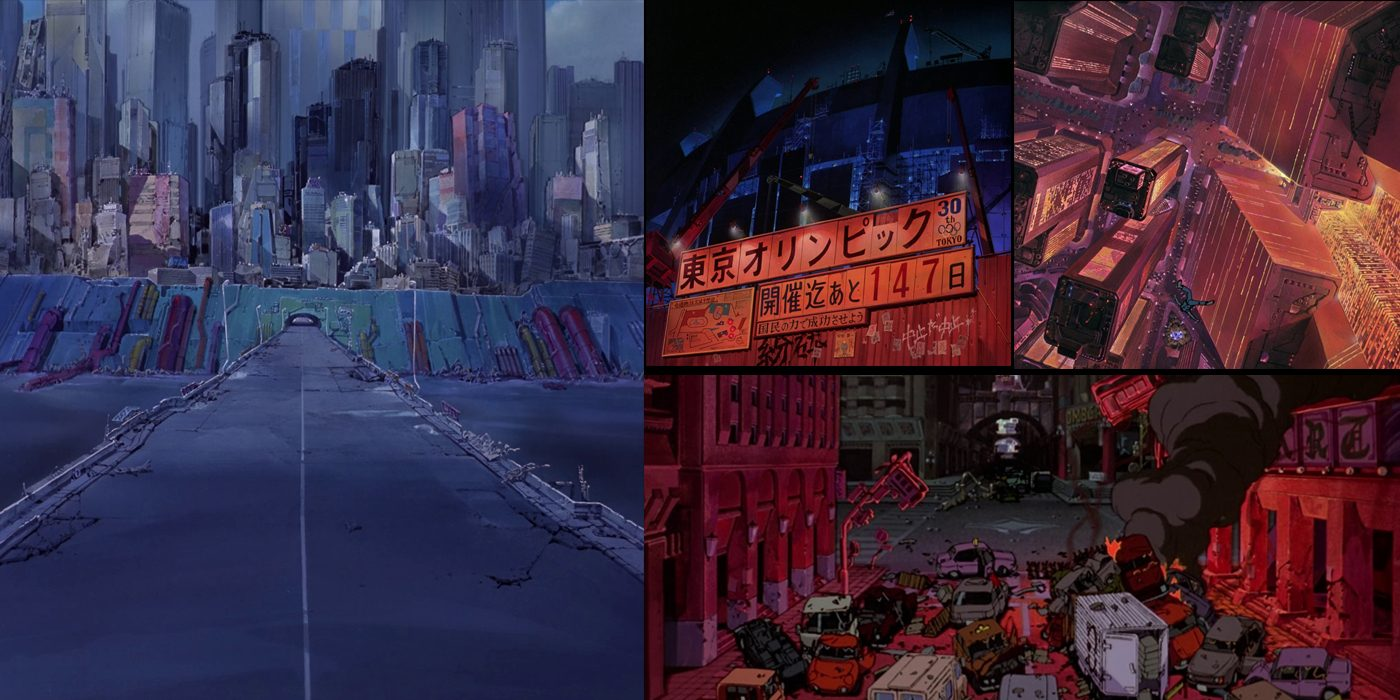 the art of akira original backgrounds