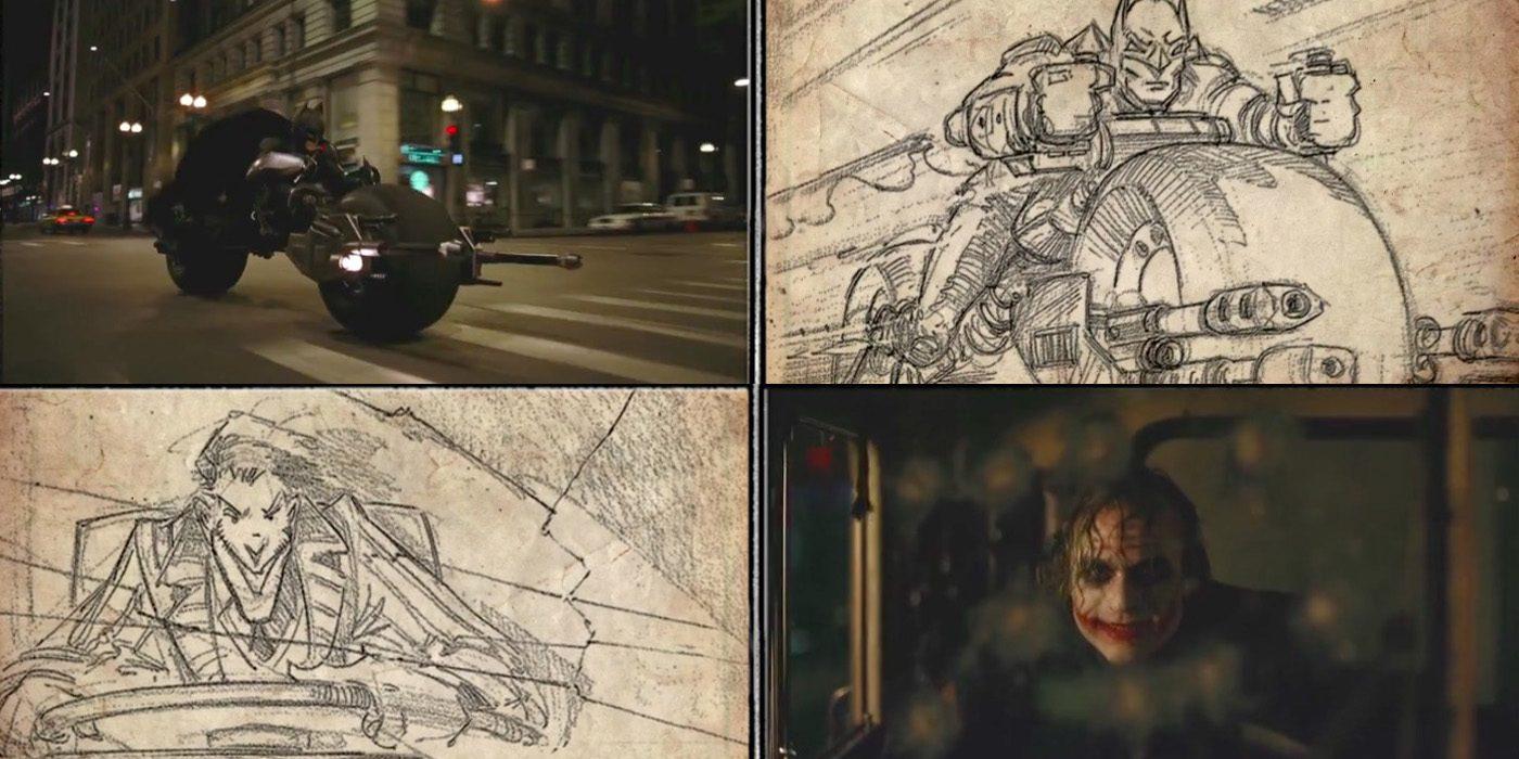 Batman The Dark Knight - Storyboard to Film Comparison