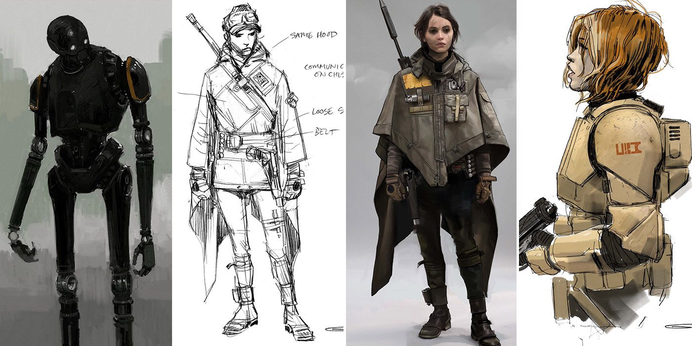 40 Exclusive Concept Art made for Rogue One a Star Wars Story