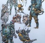 Ian McQue Sketches Collection