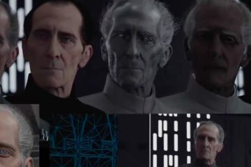 Making of Grand Moff Tarkin