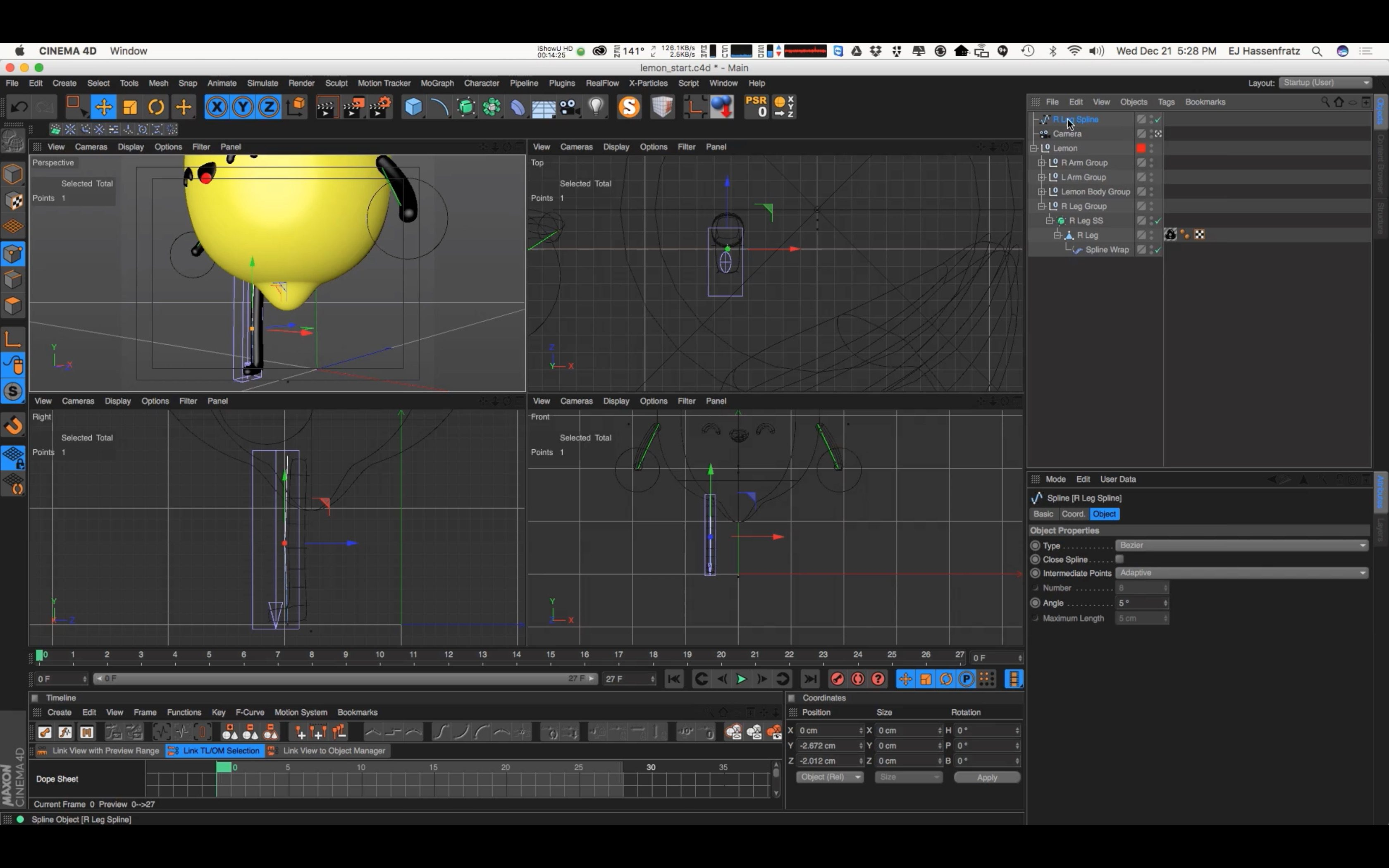 How to Rig a Character in Cinema 4D