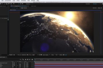 Create an Epic Earth Sunrise in After Effects