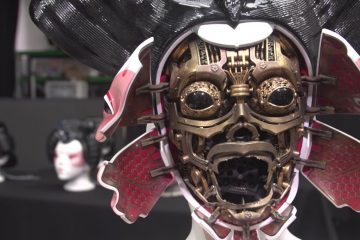 Creating Ghost in the Shell Geisha Masks
