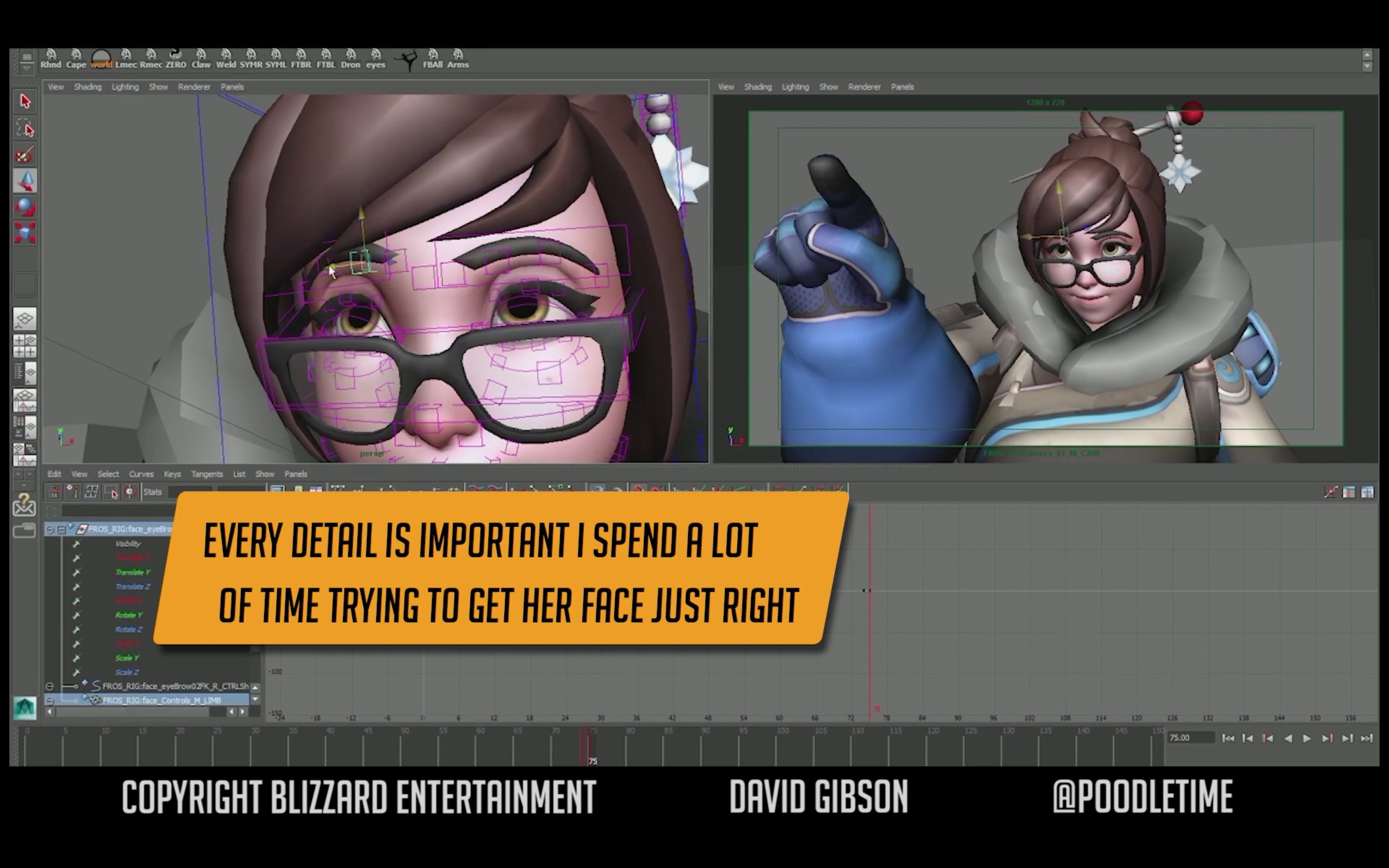 Overwatch: Animating Mei Highlight Intro