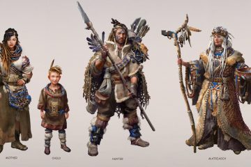 Horizon Zero Dawn Concept Art