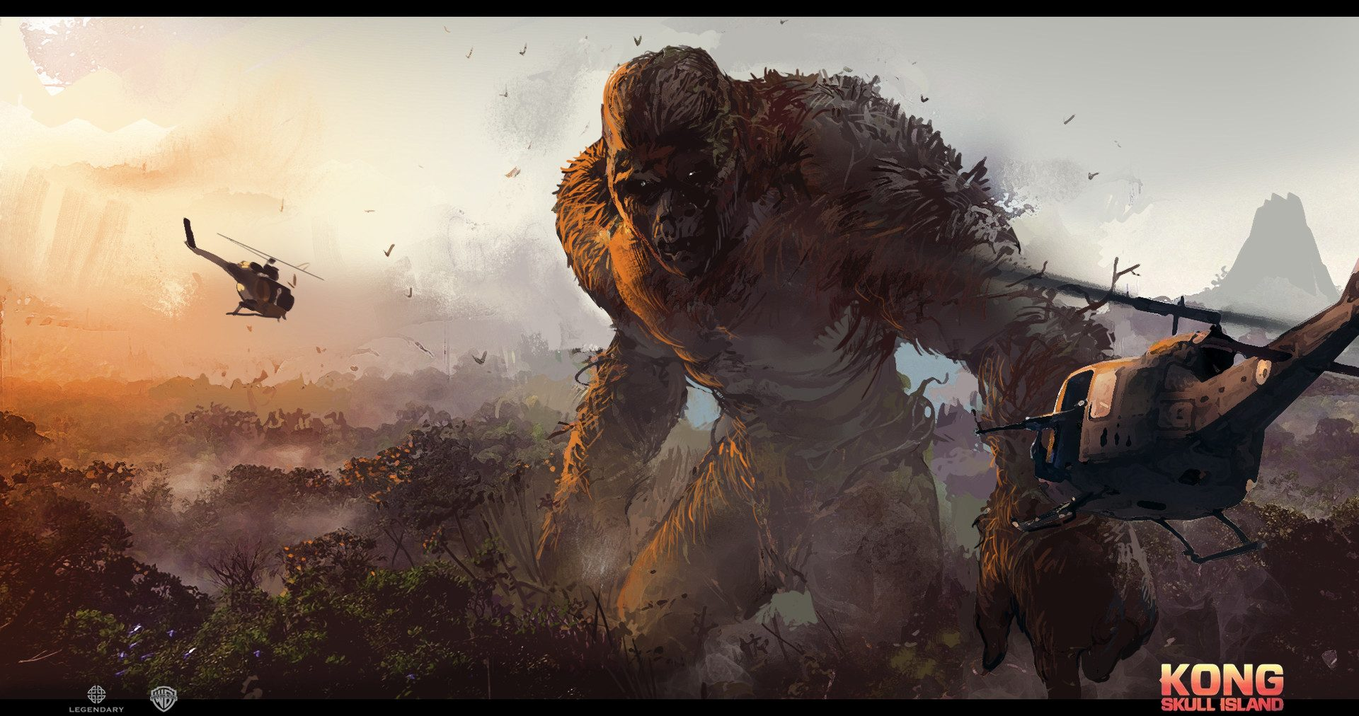 Kong Skull Island Movie Concept Art