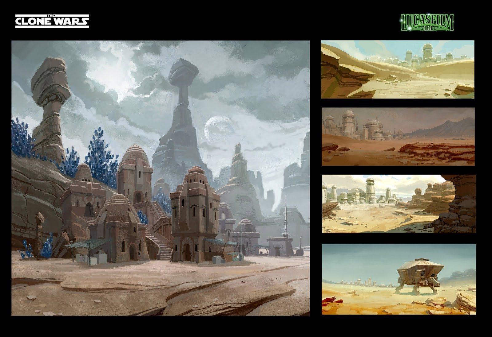 Star Wars The Clone Wars Concept Art