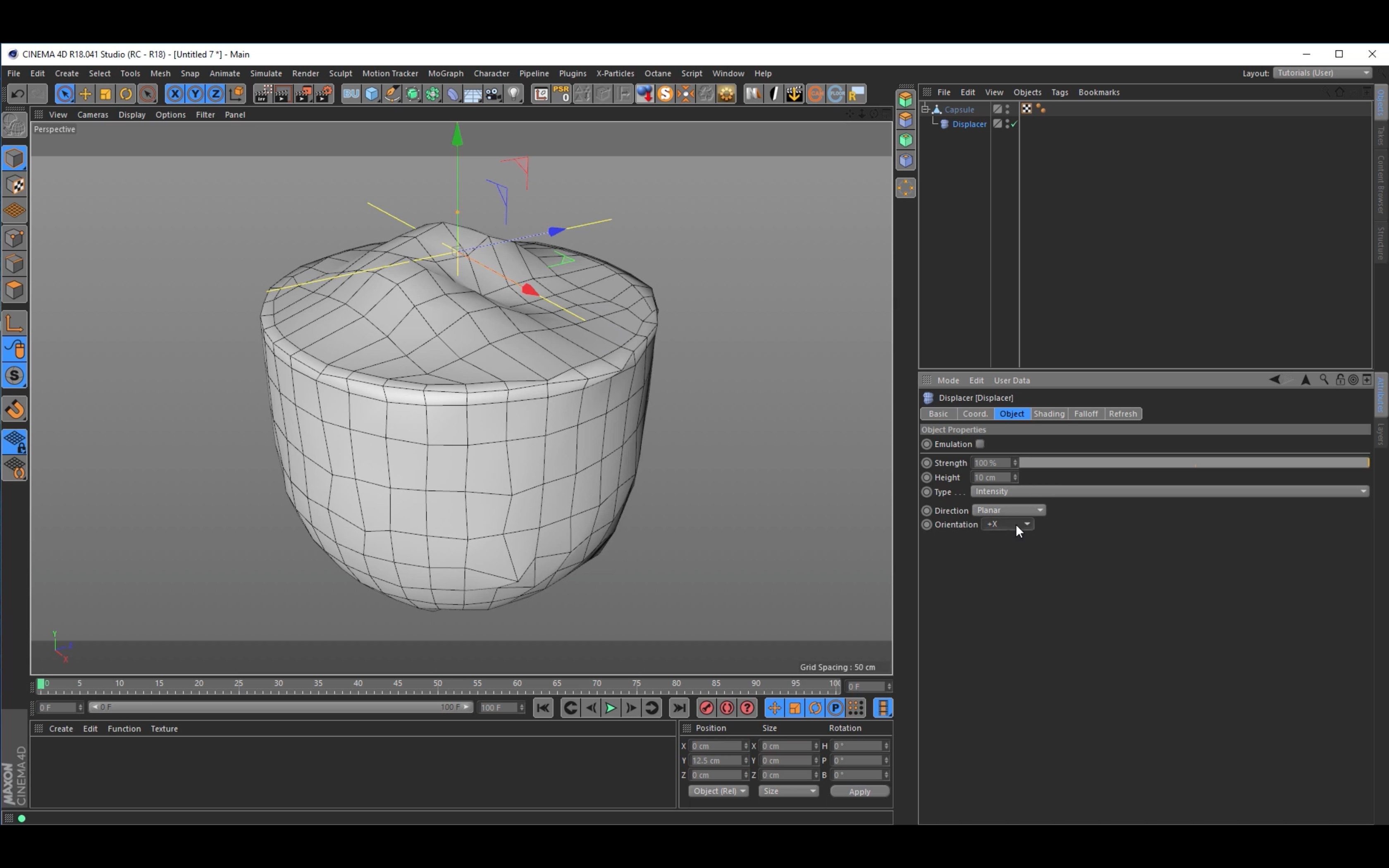 Tutorial: Creating a Landscape Capsule in Cinema 4D