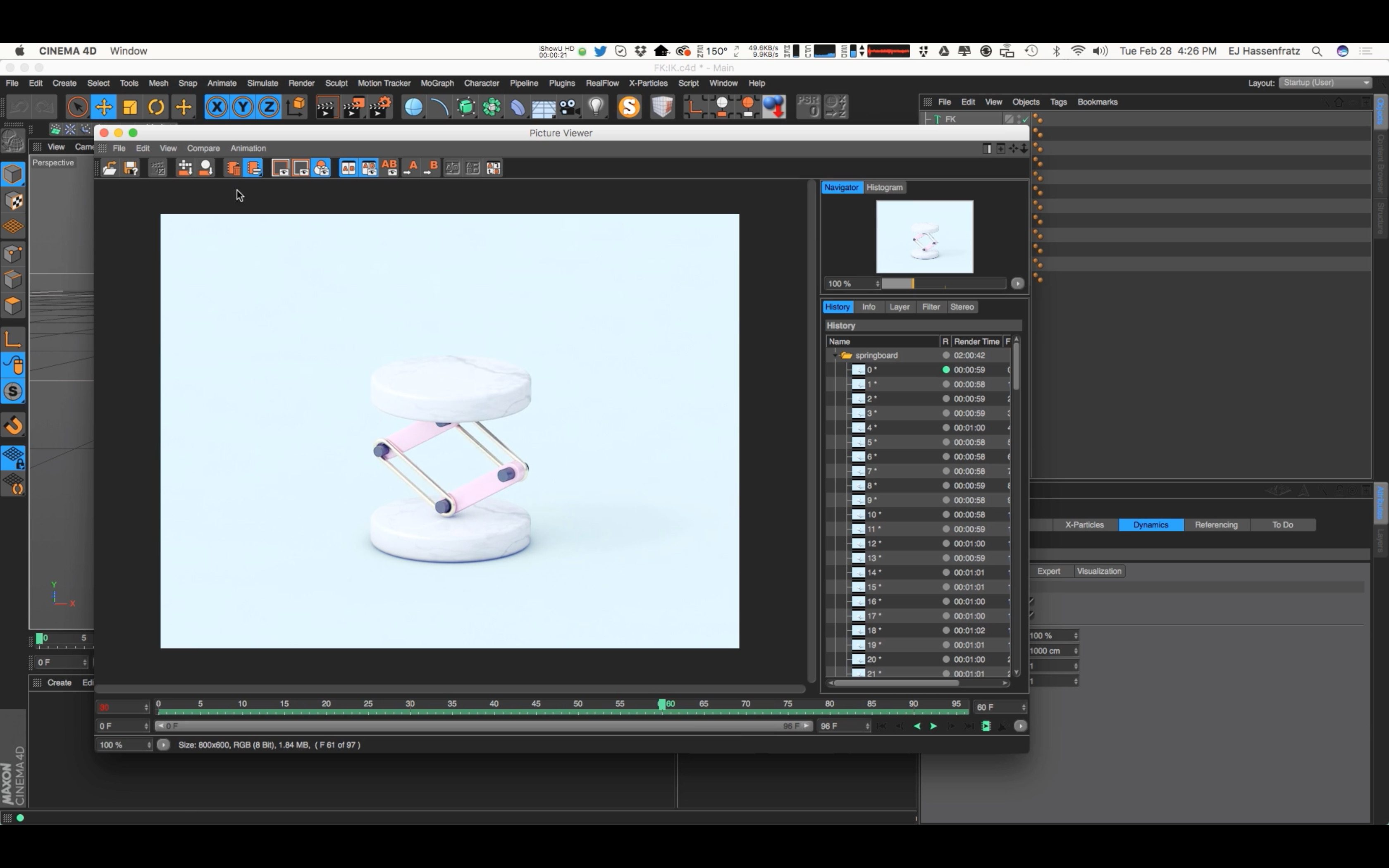 Tutorial: Introduction to Mechanical IK Rigging in Cinema 4D