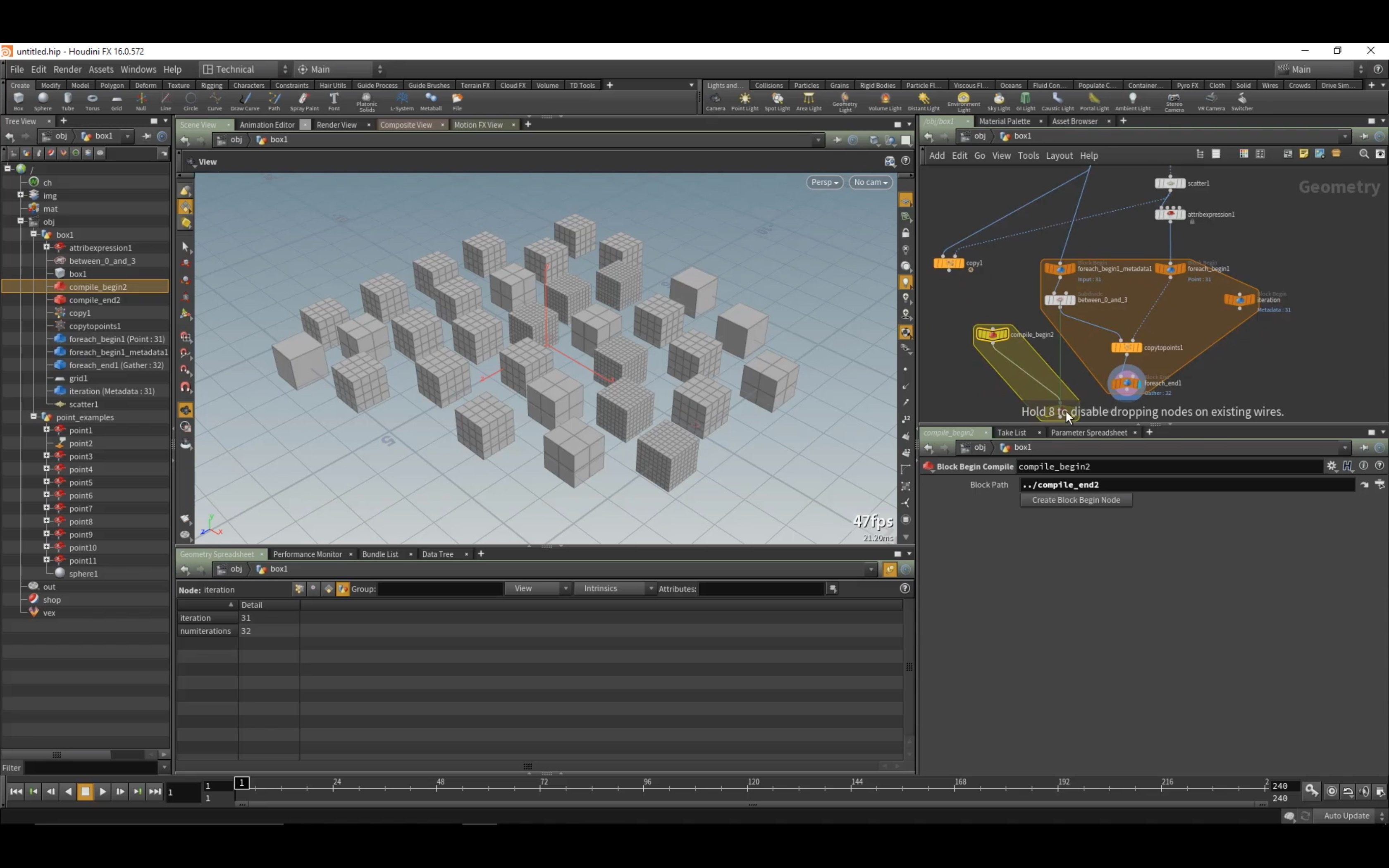 Tutorial: Geometry Workflows in Houdini 16