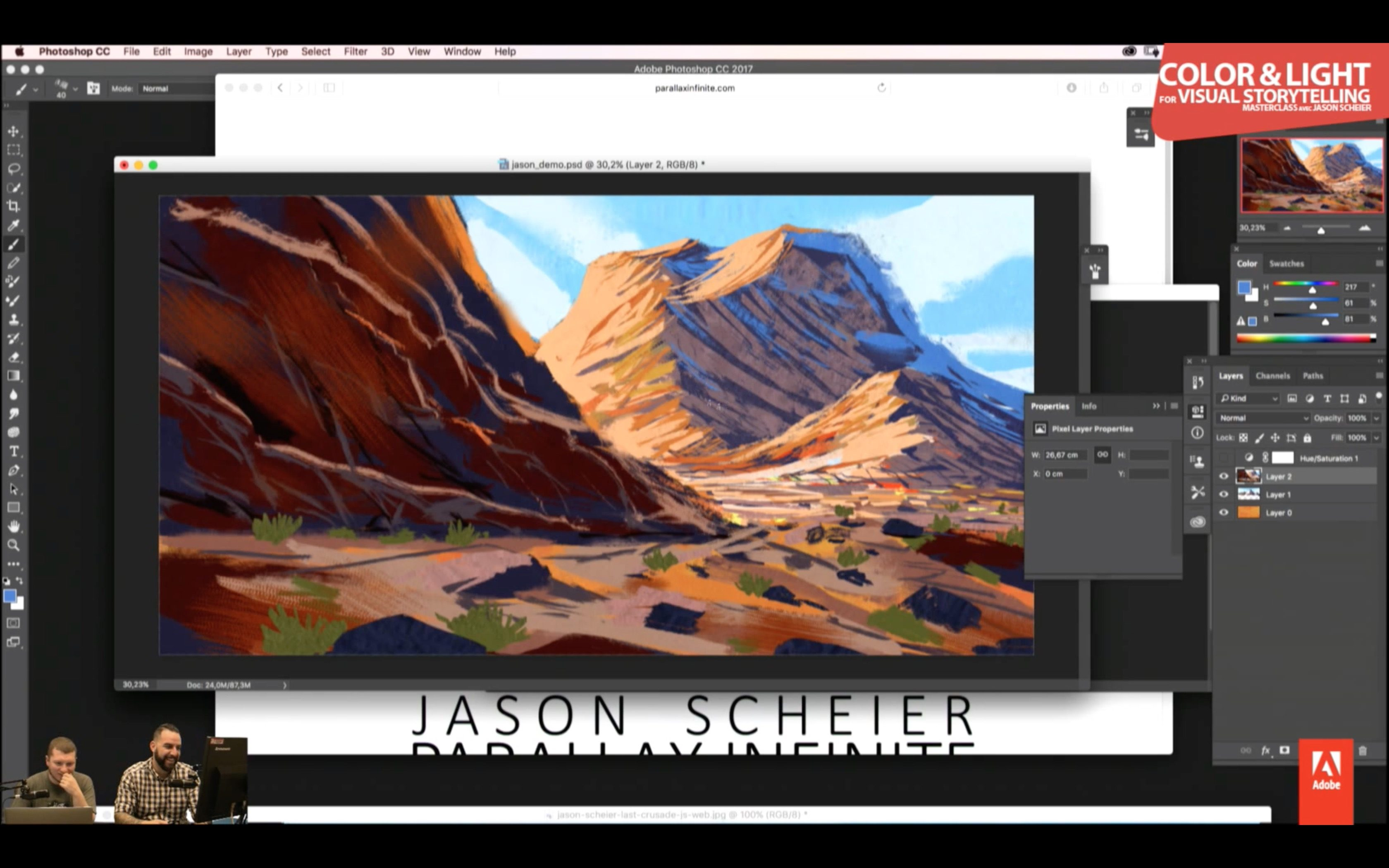 Master Class: Color and Light for Visual Storytelling with Jason Scheier