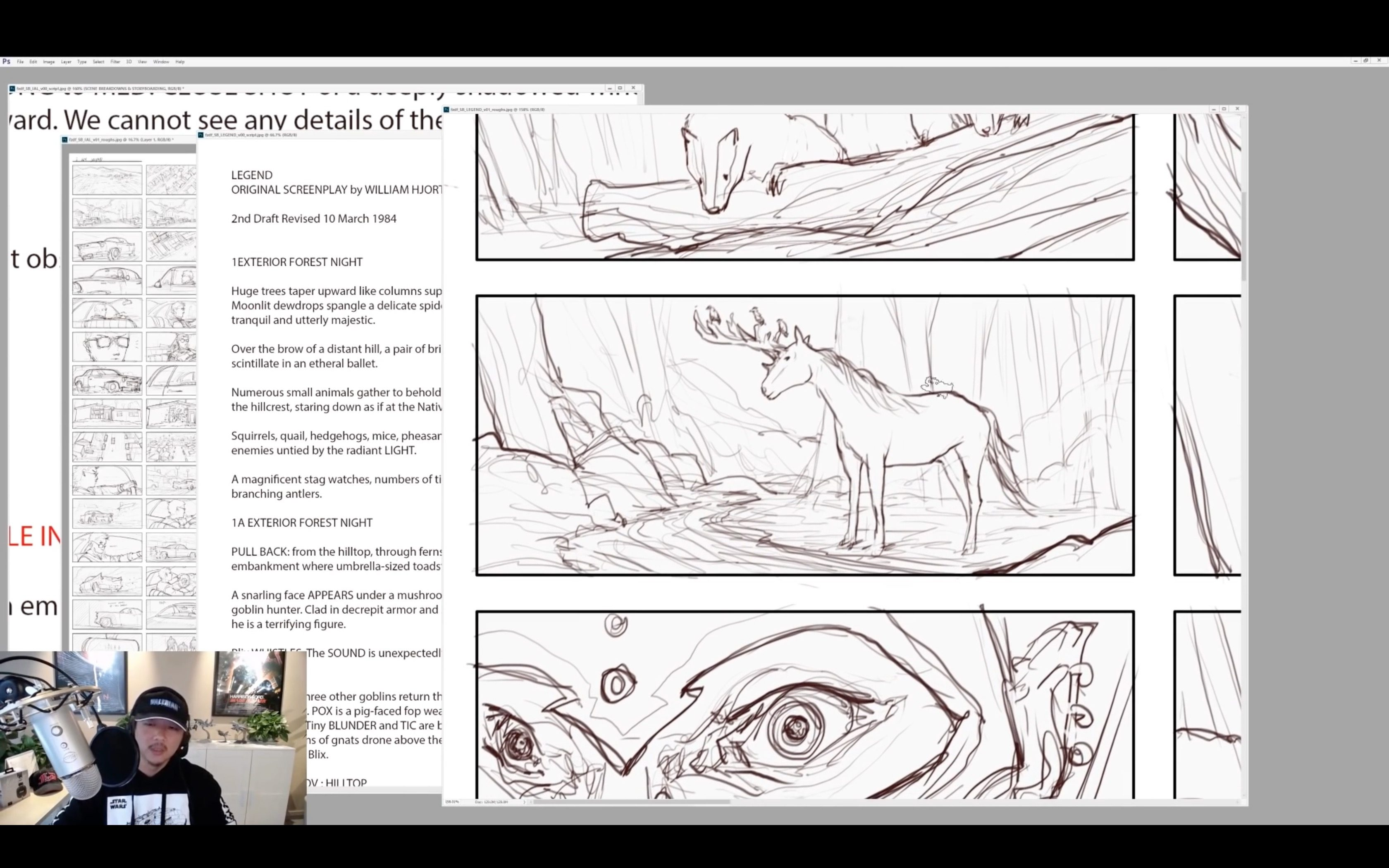 Scenes Breakdowns & Storyboarding with Fengh Zhu
