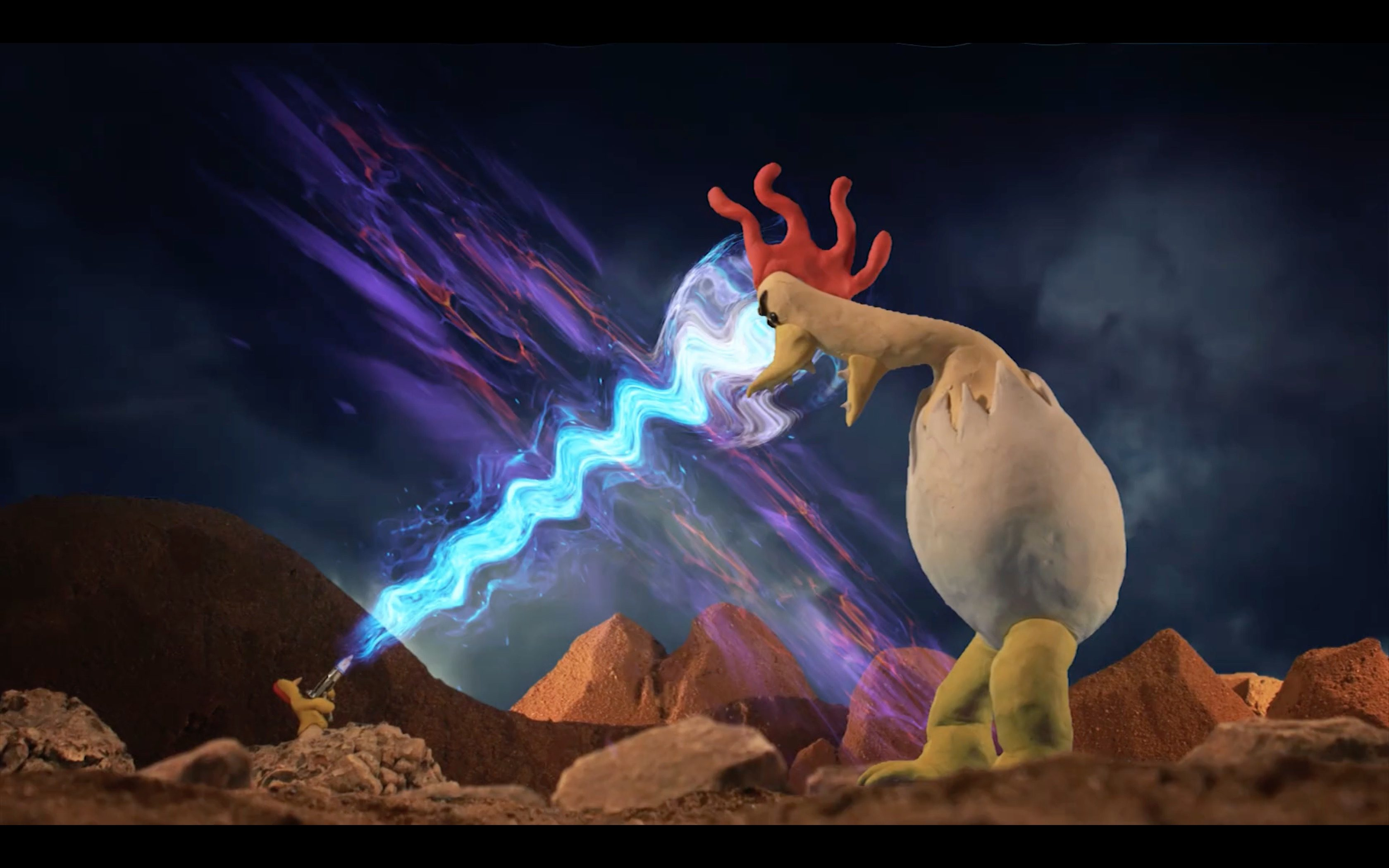 Animated Short: Time Chicken
