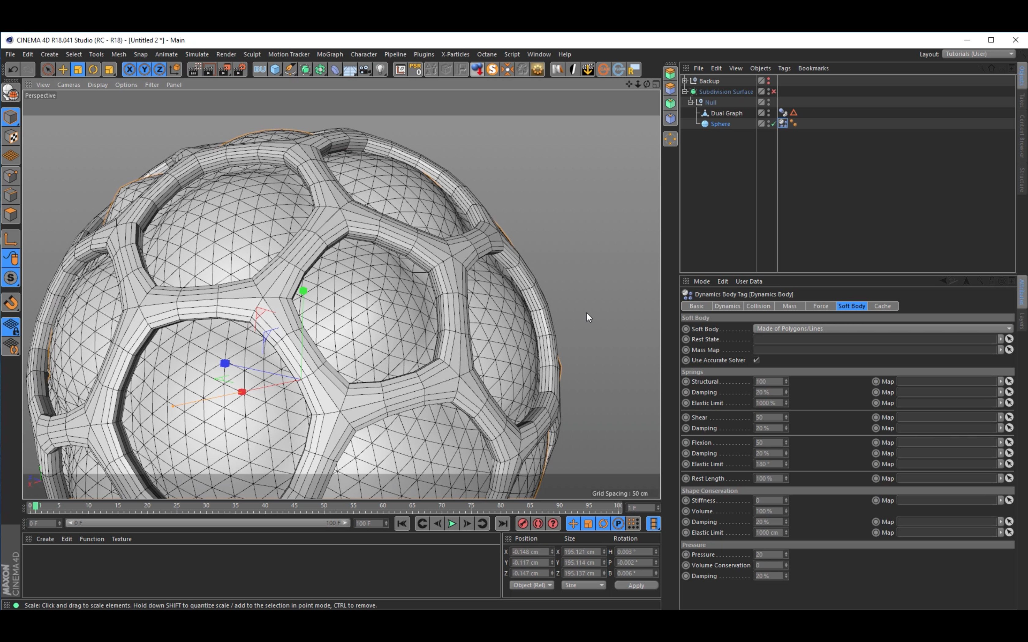 Tutorial: Creating a BubbleSphere in Cinema 4D