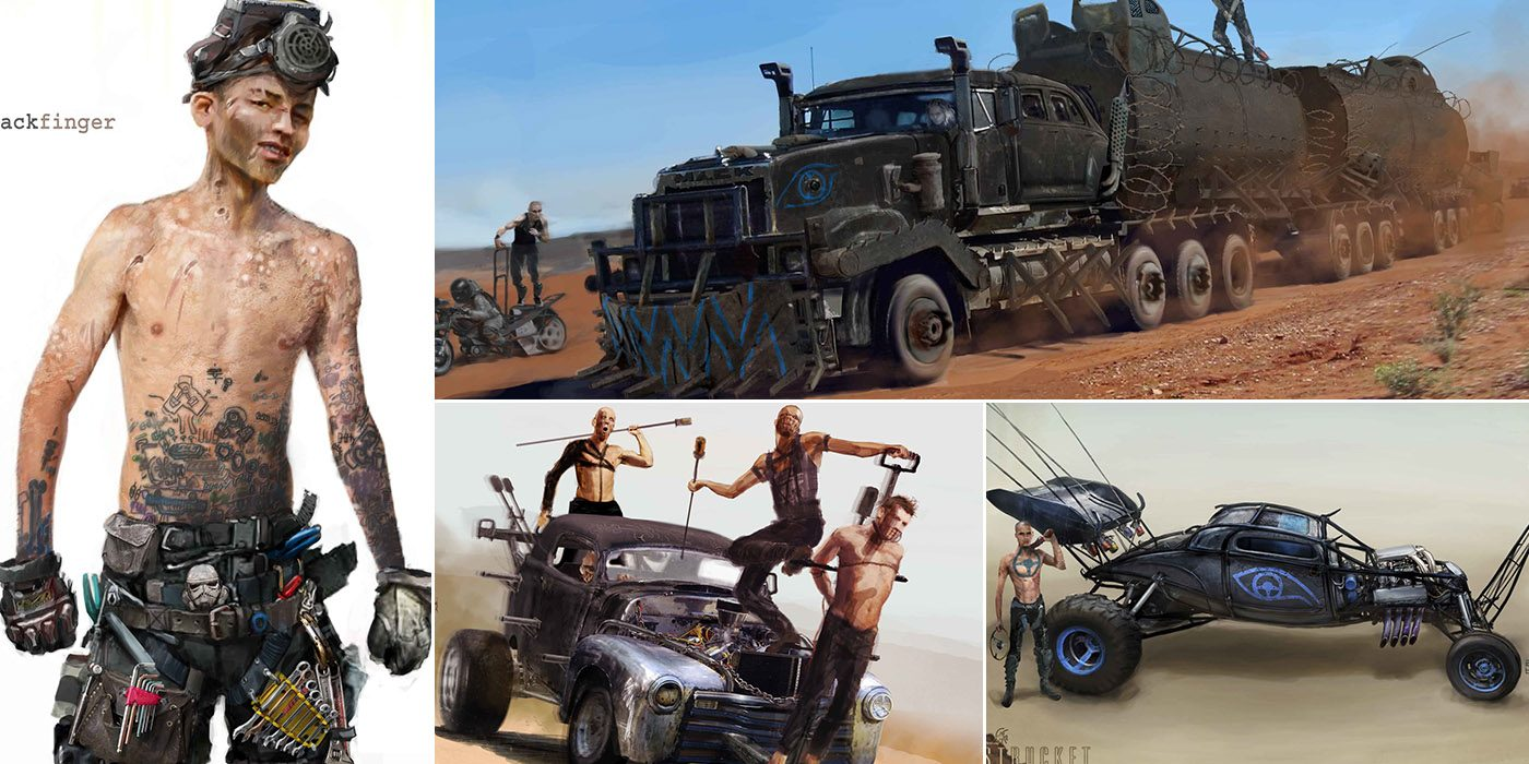 The Art Of Mad Max Fury Road By Weta Workshop
