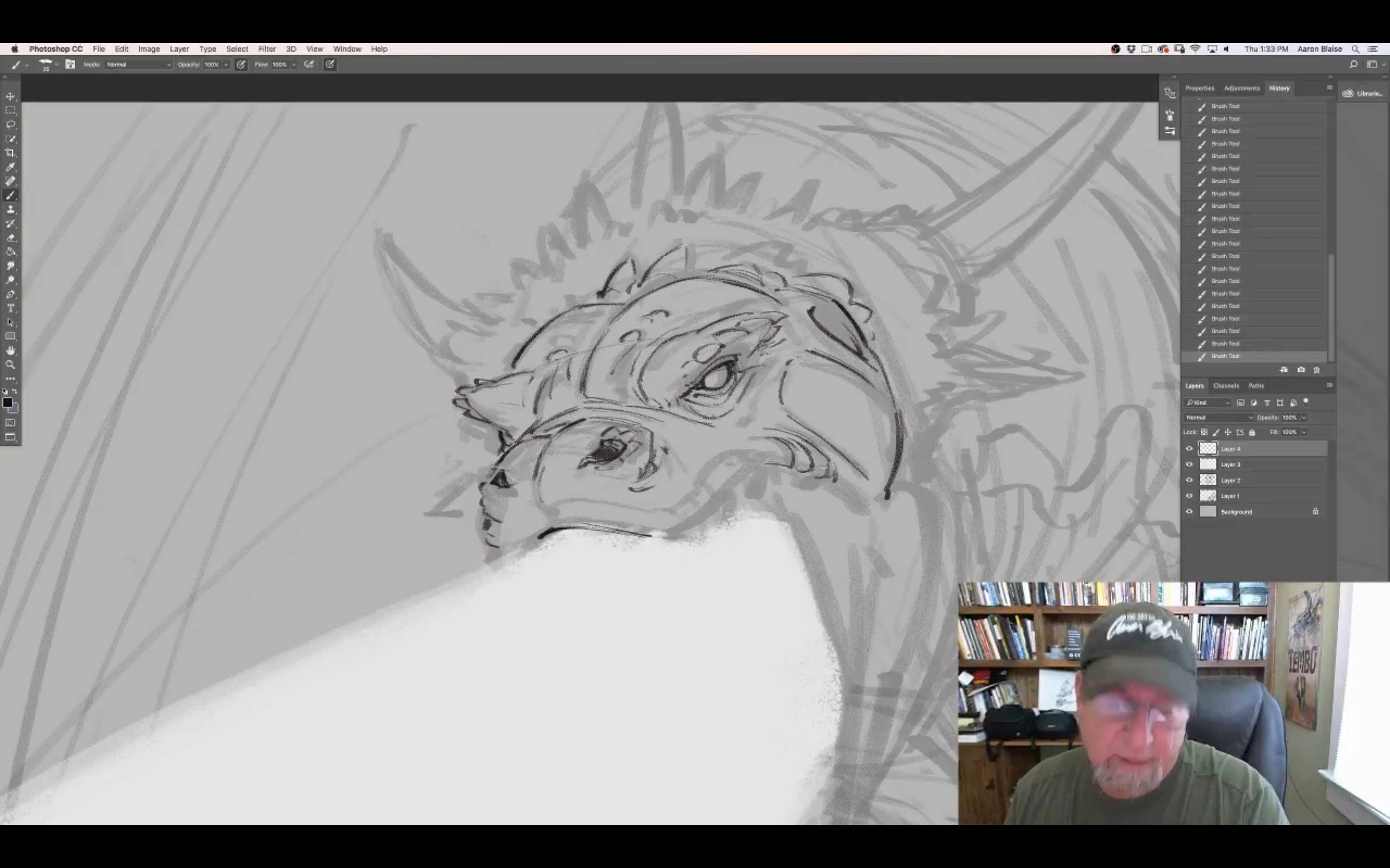 How To Draw a Dragon with Aaron Blaise