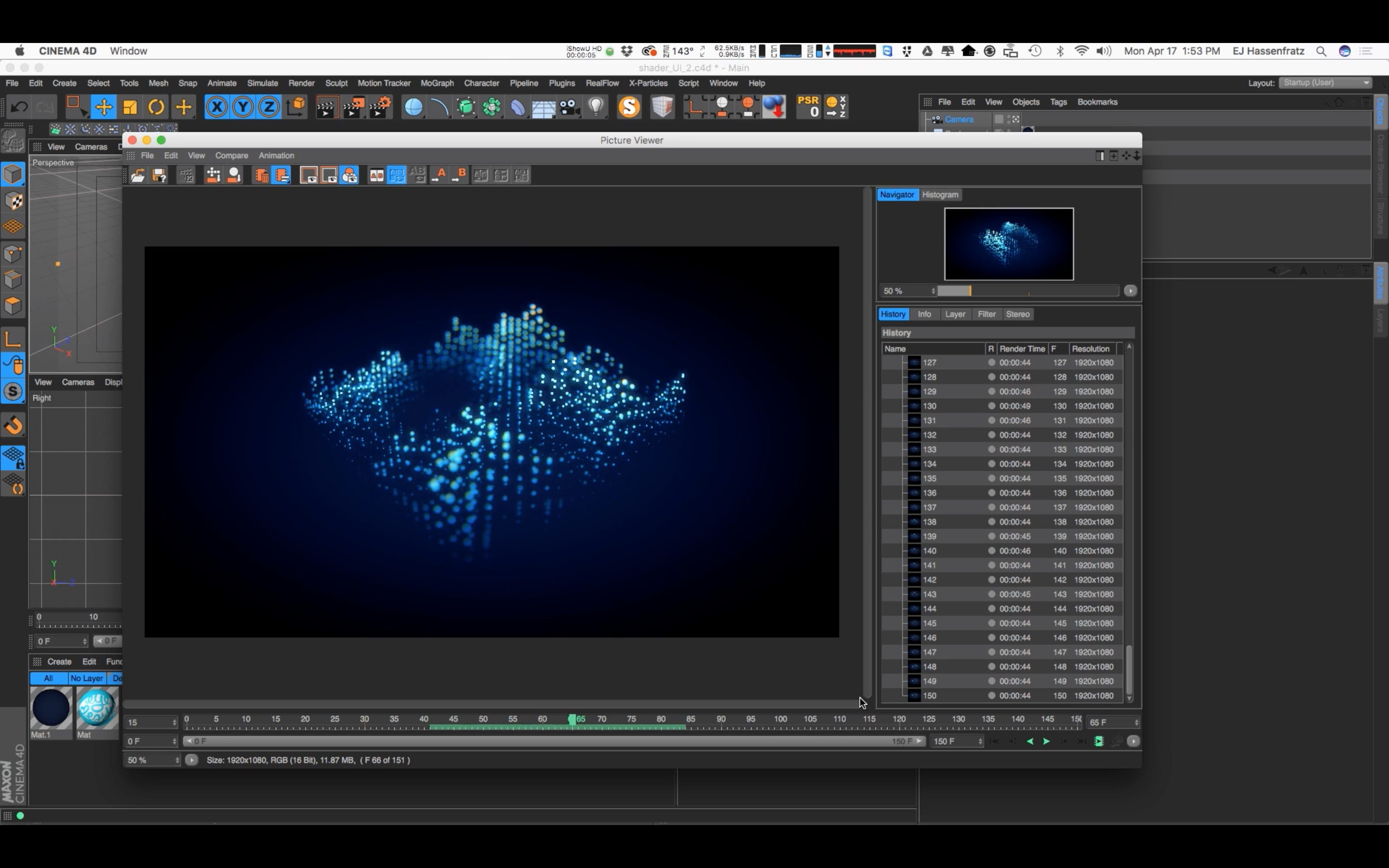 Cinema 4D Tutorial: Intro to the Mograph Shader Effector