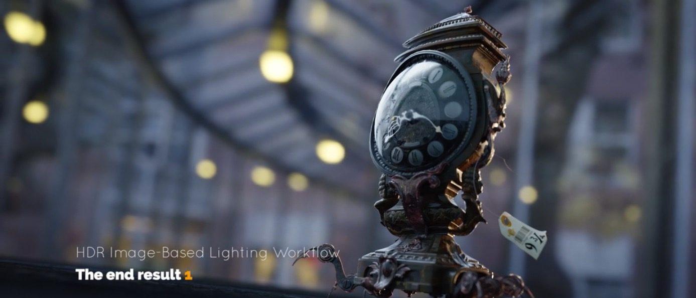 HDRI Lightning In Blender