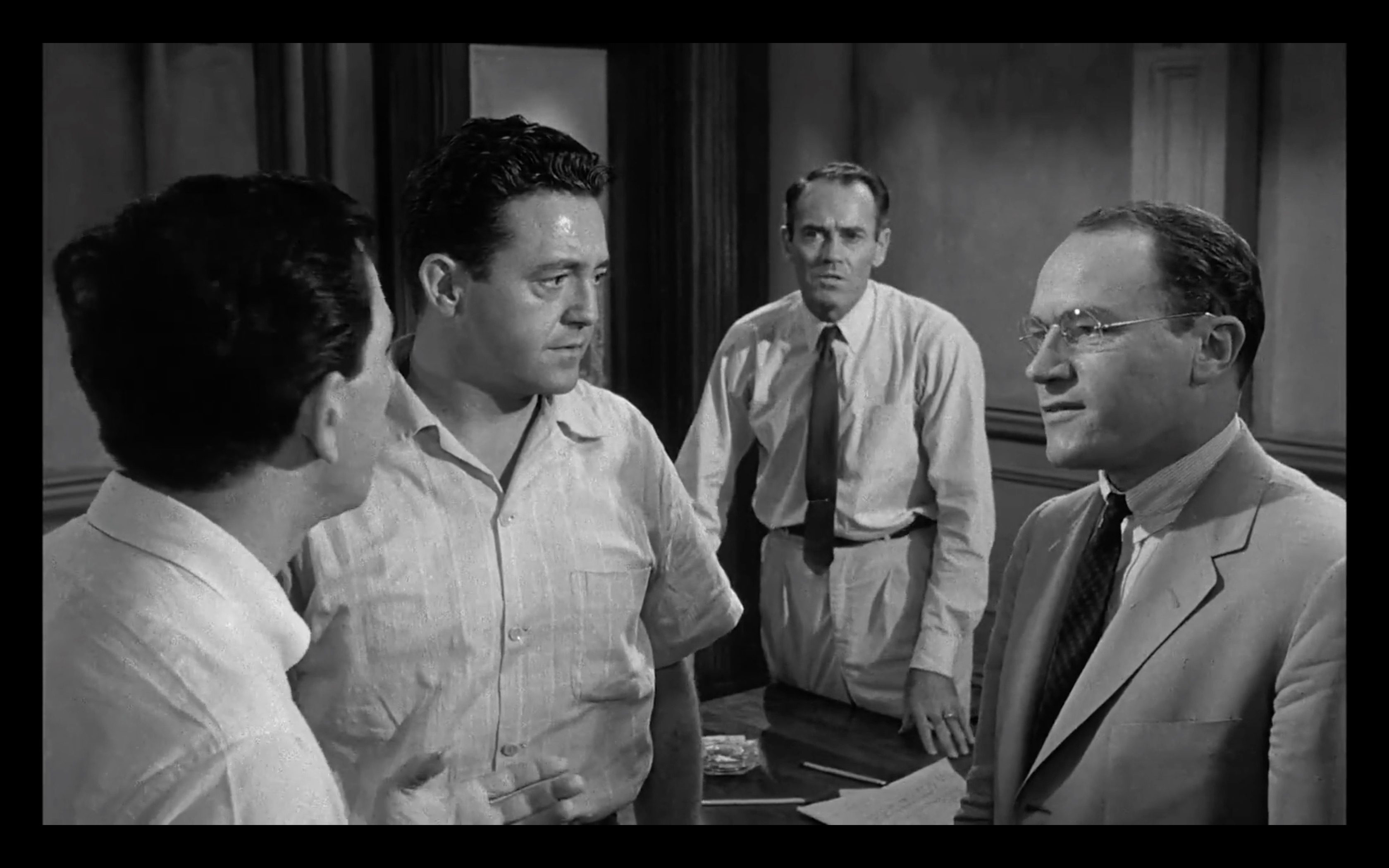 racism in the movie 12 angry men A pet project of henry fonda's, twelve angry men was his only foray into film production the actor's partner in this venture was reginald rose, who wrote the 1954 television play on which the.