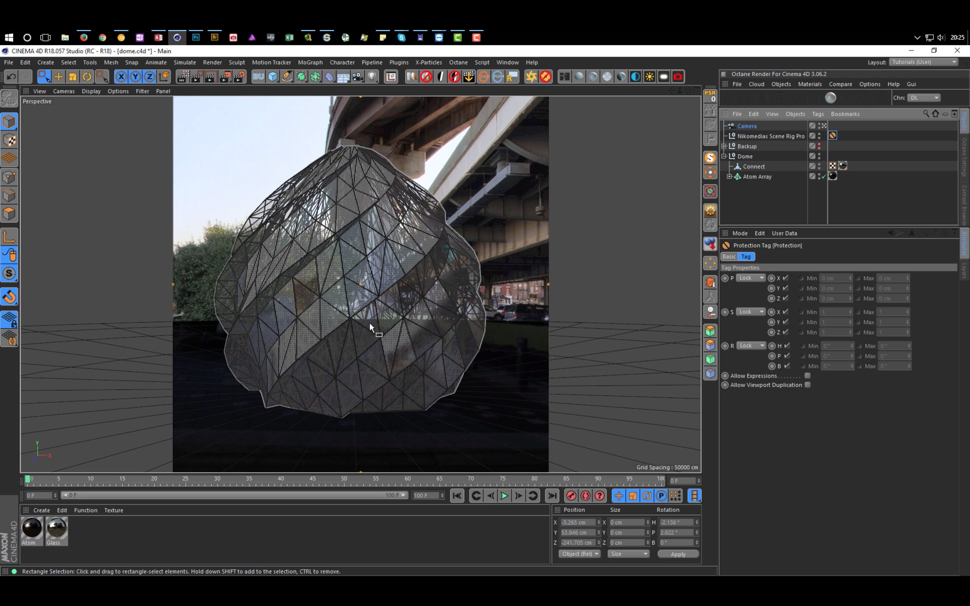 Tutorial: Creating a Dome in Cinema 4D