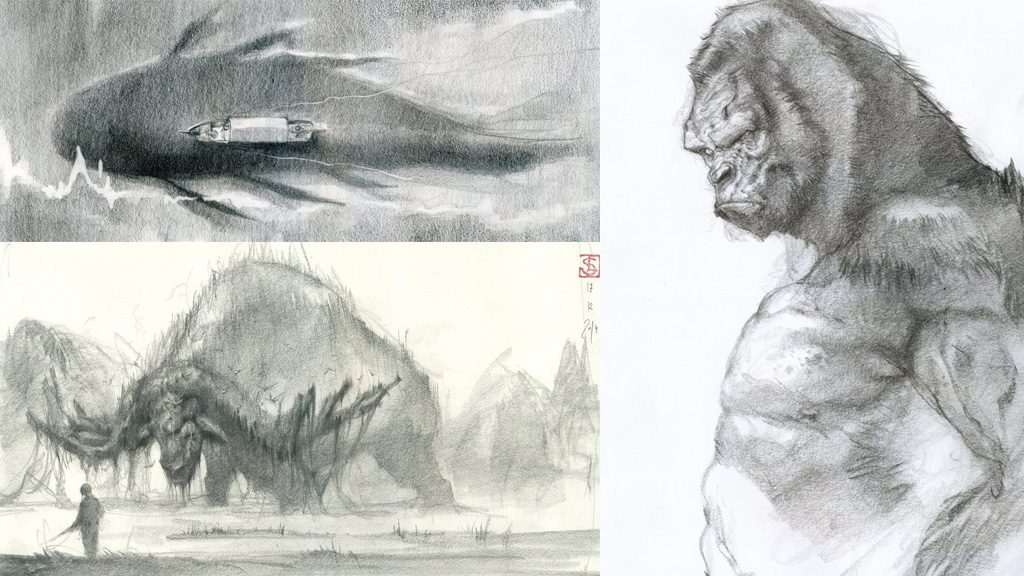 Kong Skull Island Concept Art Collection