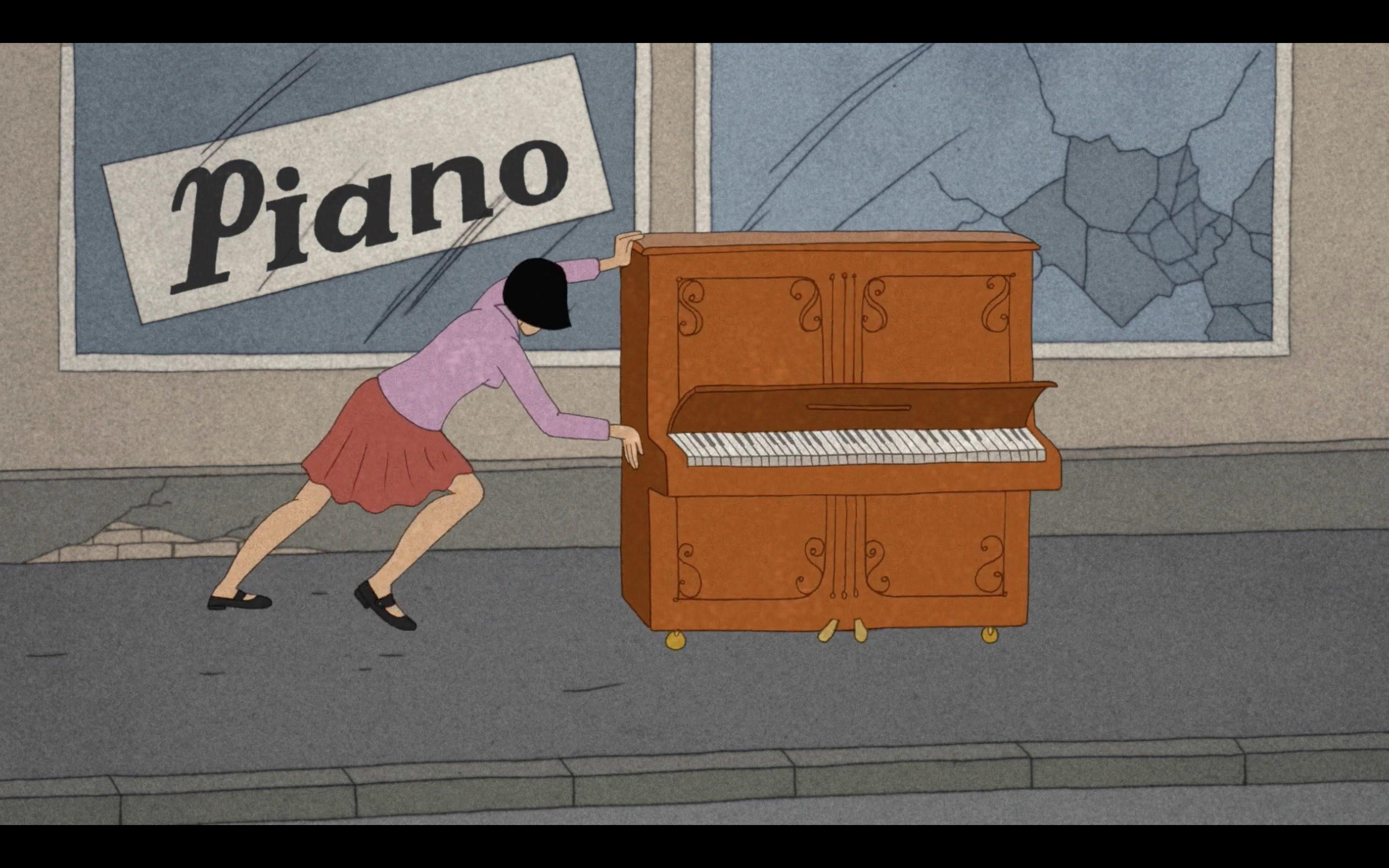 Animated Short: Piano
