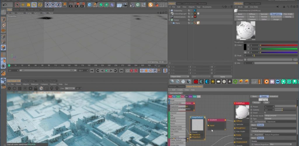 Creating Displacement Map Textures for Cinema 4D