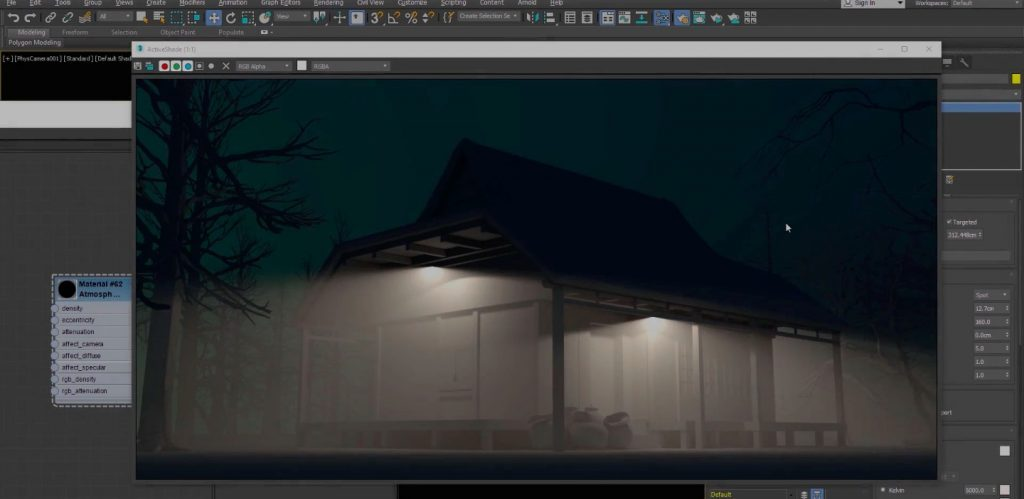 Creating realistic Atmospheric Volume effect in Arnold for 3ds Max
