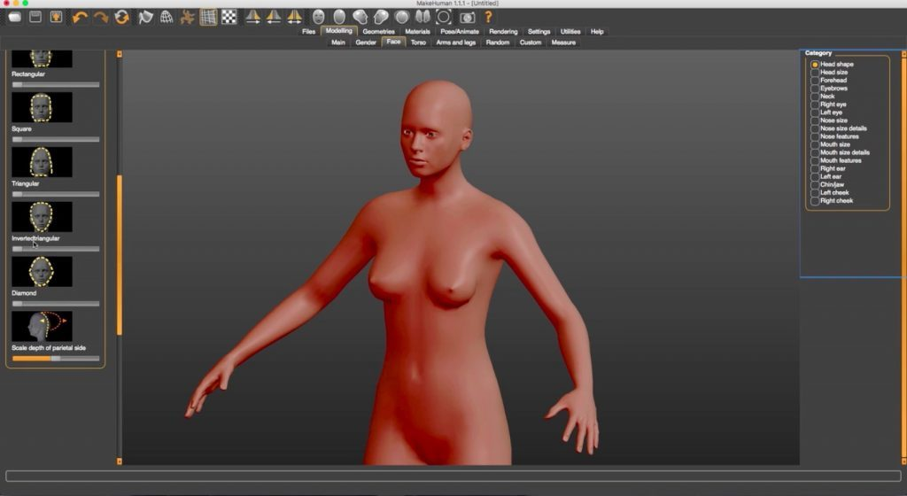 Morphing a man into a woman with C4D