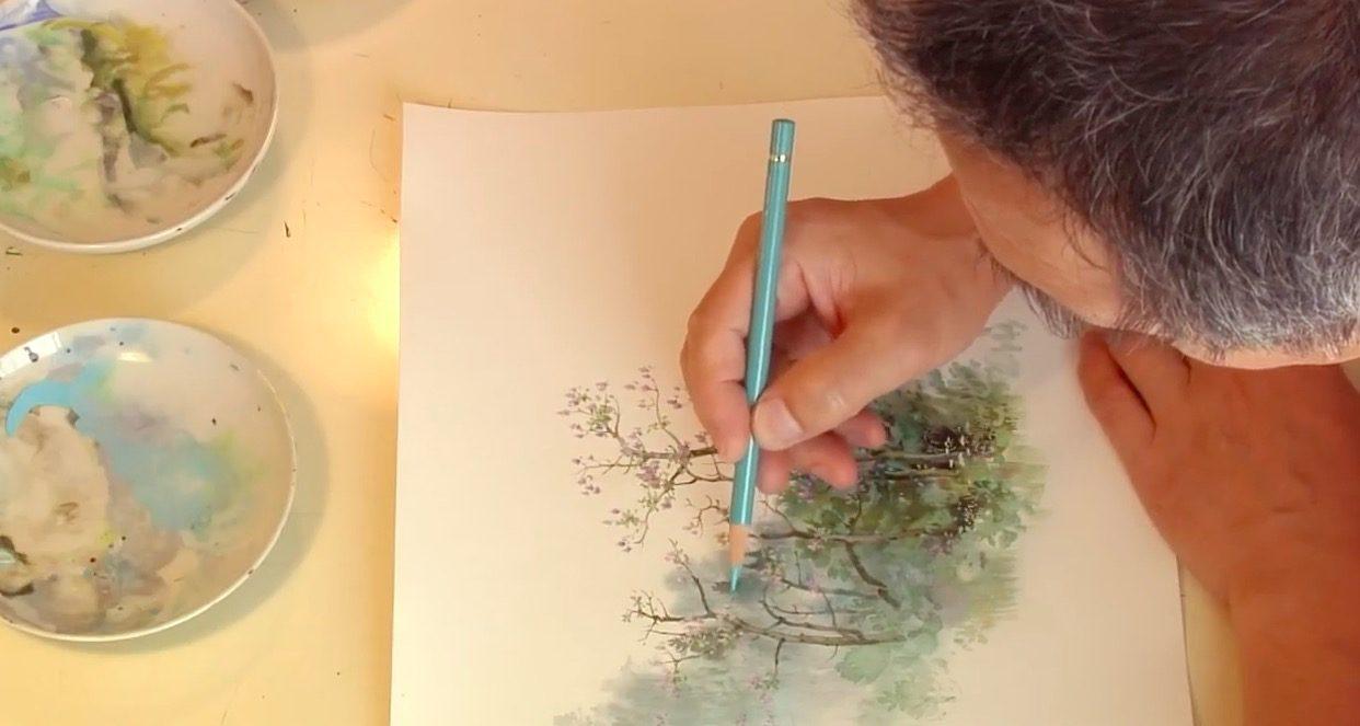 Kazuo Oga Painting