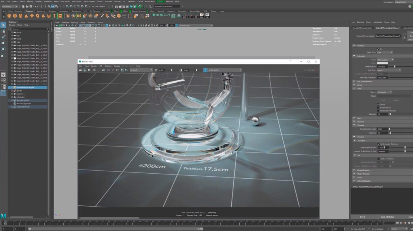 RedShift For Maya : A Series of 101 Video Tutorials