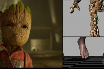 VFX Breakdown : Guardians of the Galaxy Vol. 2 by Framestore